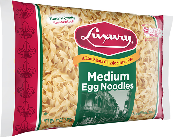 LUX_EGG_MED_N_12_3D_C Medium Egg Noodles