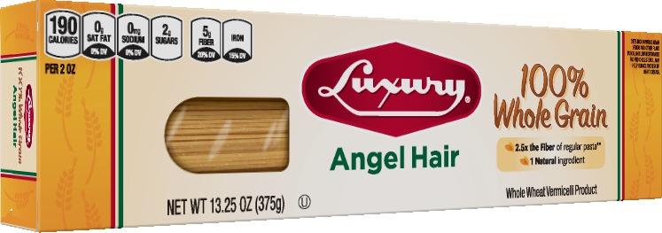 Whole-Grain-Angel-Hair-Pasta 100% Whole Grain Angel Hair